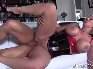 AnySex blonde big tits