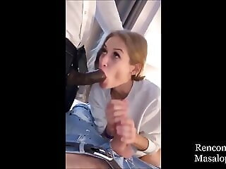 AnySex blowjob blonde