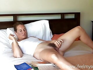AnySex fingering blonde