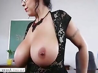 AnySex brunette blowjob