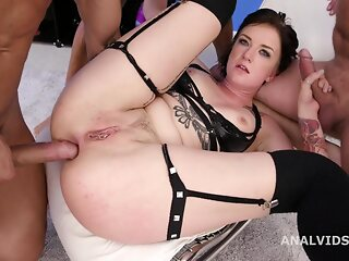 AnySex brunette anal